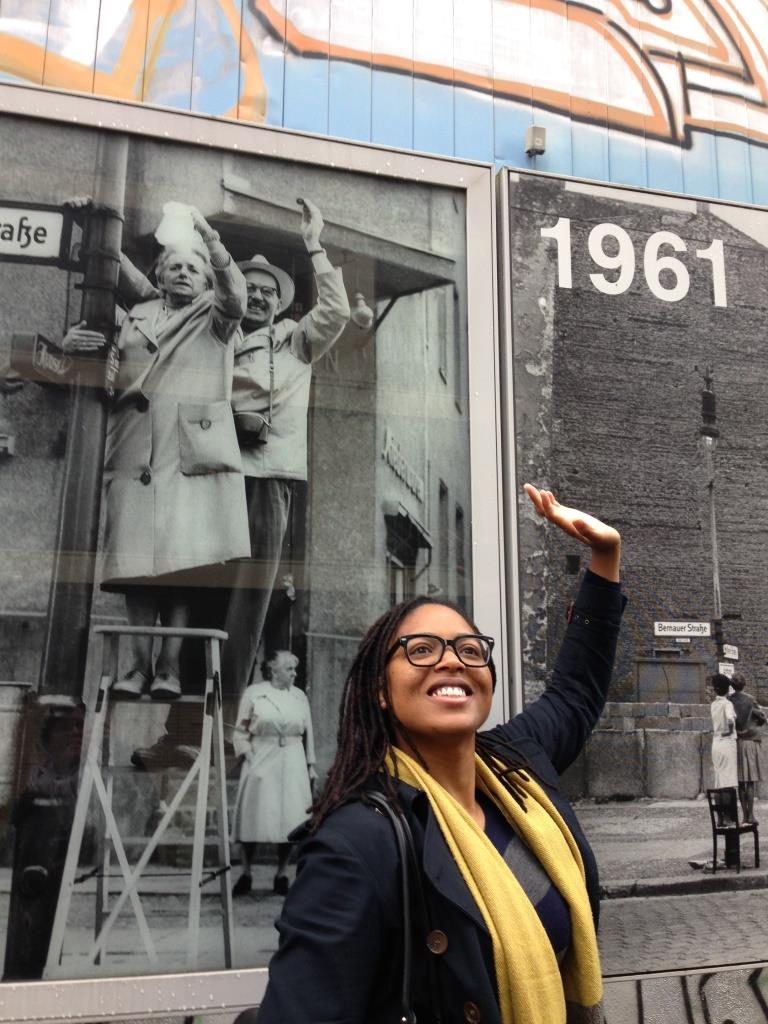 As a scholar of german african american transatlantic history i couldnt resist the pull of 1961 bernauer strasse to experience the site that divided