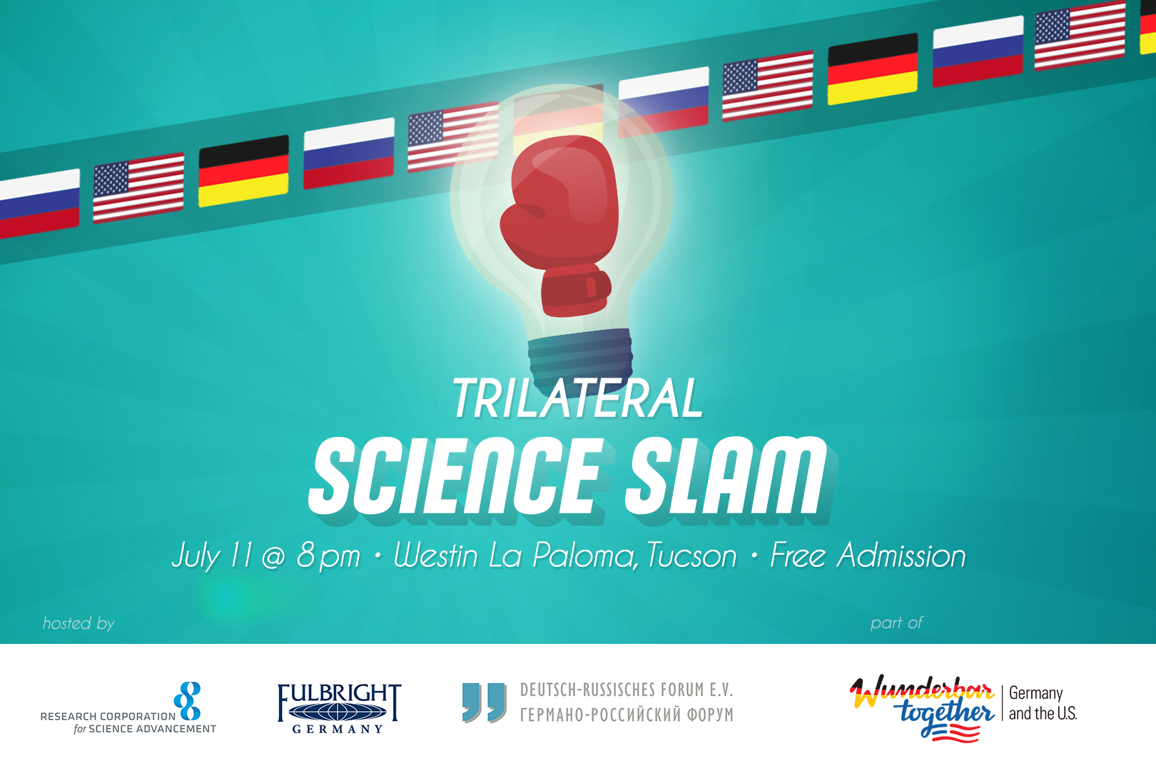 Science Slam - German-American Fulbright Commission